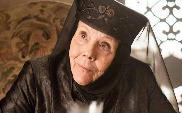 Diana Rigg in rolul Olennei Tyrell